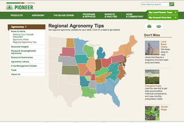 Local Agronomy Map
